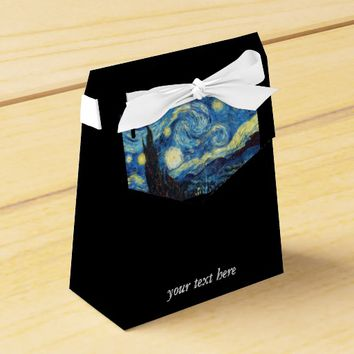 Starry Night Personalized Party Favor Box