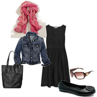 Spring Black Dress - Polyvore