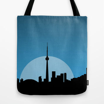 Moonrise  Tote Bag by Halfmoon Industries