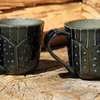 Ceramic stoneware mugs » Craftori