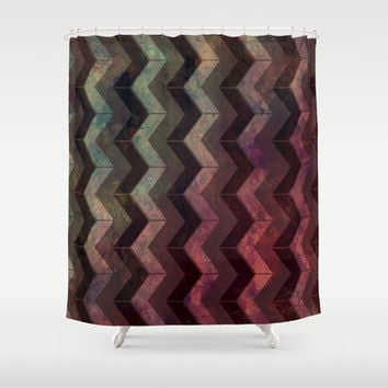 Pattern R2 Shower Curtain by VanessaGF