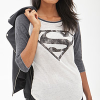 Superman Baseball Tee