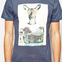 Blend T-Shirt Slim Fit Kangaroo Photo Print at asos.com