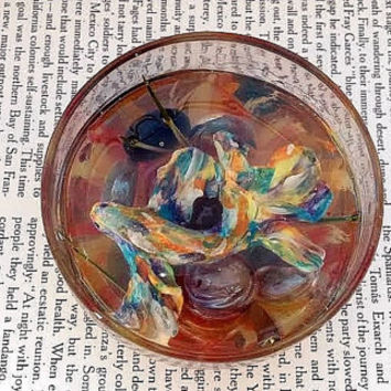 Rainbow Decor - Glass Paperweight - Sculpture - Resin Terrarium - Home Decor - Office - Decorations - Gift - Fish Bowl - No Care - Clay