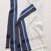 Lost & Found Striped Borders Throw