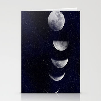Moon Child Stationery Cards by DuckyB (Brandi)