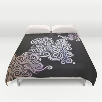 Swirling Thoughts Duvet Cover by DuckyB (Brandi)