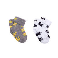 HUF - BABY SEEDS SUM14 // BLACK HEATHER / YELLOW