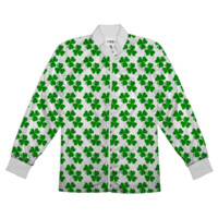 Shamrocks - Small clovers exploding all over Jacket