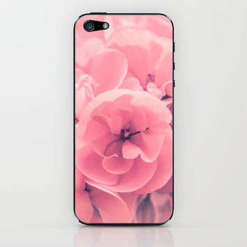 Pink iPhone & iPod Skin by Loredana | Society6
