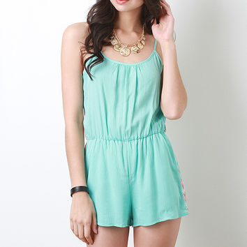 Native Trail Romper