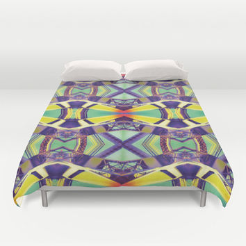 Urban Tribe Duvet Cover by DuckyB (Brandi)