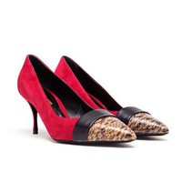 NICHOLAS KIRKWOOD | Colour Block Suede Pumps | Browns fashion & designer clothes & clothing