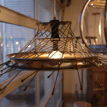 Indifference Recycled Bike Lighting by ReMainDesigns on Etsy