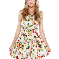 Papaya Clothing Online :: FLORAL FLARE DRESS