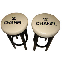 Penny Long - Vintage Chanel Stools - 1stdibs
