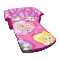 Marshmallow Furniture Bubble Guppies Flip Open Sofa