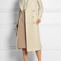 Michael Kors | Double-breasted wool-felt coat | NET-A-PORTER.COM