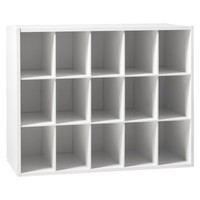 Room Essentials™ 15-Unit Organizer - White