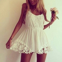 Grace and Lace Playsuit - Sold Out