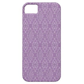 Pave Diamonds Amethyst iPhone 5/5s Phone Case