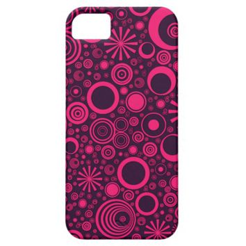 Rounds, Pink-Purple iPhone 5/5s Case