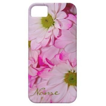 Dyed Pink Daisies iPhone 5/5s Case