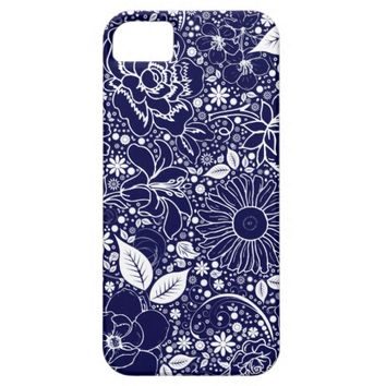 Botanical Beauties Blue, iPhone 5/5s Case
