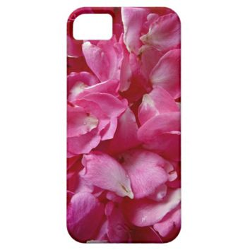 Pink Rose Petals iPhone 5/5s Case