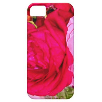Make Mine Pink Roses 1 iPhone 5/5s Case