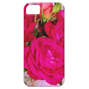 Make Mine Pink Roses 2 iPhone 5/5s Case