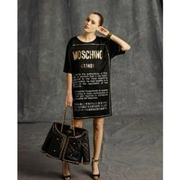 MOSCHINO | Care Label T Shirt Dress | Browns fashion & designer clothes & clothing