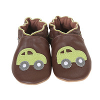 Robeez Nicholas Soft Soles, Brown