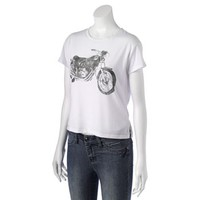 Recycled Karma Motorcycle Tee - Juniors