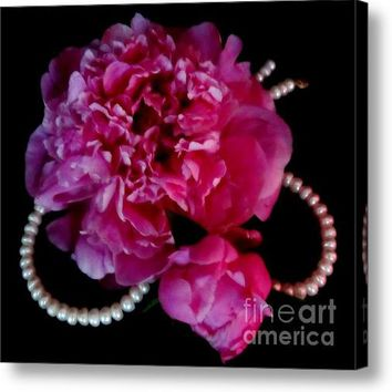 Peonies And Pearls 2 Acrylic Print