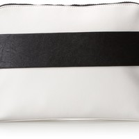 French Connection Dream Boat Clutch,White,One Size