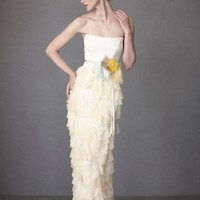 Mille Petals Corset Gown in  the SHOP Attire Gowns at BHLDN