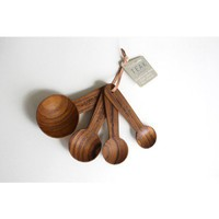 Harabu House - Teak Measuring Spoons