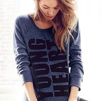 Long-sleeve Raglan Fleece Tunic - Victoria's Secret