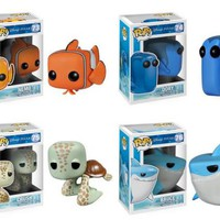Funko Pop! Disney: Finding Nemo Figures