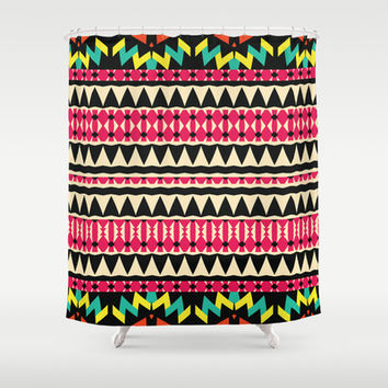 Mix #581 Shower Curtain by Ornaart