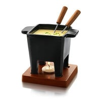 FONDUE FOR TWO | Chocolate Dip, Cheese Dip, Serving Dish, Serveware, Ceramic Pot | UncommonGoods