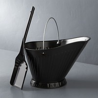 Black Ash Shovel and Bucket