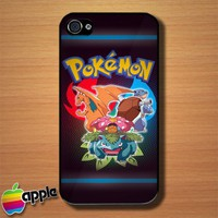 The Three Pokemon Custom iPhone 4 or 4S Case Cover | Merchanstore - Accessories on ArtFire