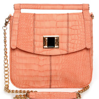 Cute Coral Pink Handbag - Vegan Handbag - Vegan Purse - &amp;#36;44.00