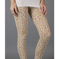Adorable Flower Lace Leggings