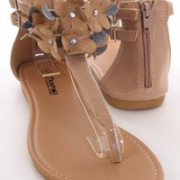 Nude Faux Leather Floral Rhinestone Buckle Thong Sandals @ Amiclubwear Sandals Shoes online store sale:Sandals,Thong Sandals,Women's Sandals,Dress Sandals,Summer Shoes,Spring Shoes,Wooden Sandal,Ladies Sandals,Girls Sandals,Evening Dress Shoes,Casual Sand