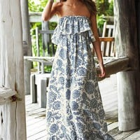 Ruffled Maxi Dress - Victoria&#x27;s Secret
