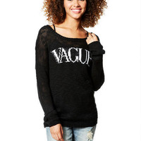 Vague Intarsia Sweater - Multi