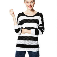 Slub Drop Shoulder Sweater -